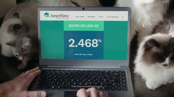 AmeriSave Mortgage TV Spot, 'Mike the Cat Lady Man: Home Loan' - Thumbnail 7