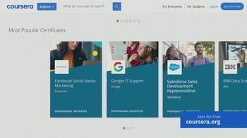 Coursera TV Spot, 'Certificate Stories' - Thumbnail 5