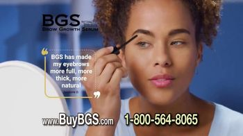 Bella Brow Brow Growth Serum TV Spot, 'Energize Your Eyes' - Thumbnail 3