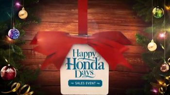 Happy Honda Days Sales Event TV Spot, 'Holiday Clearance: CR-V' [T2] - Thumbnail 3