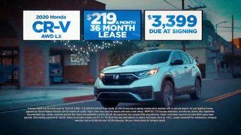 Happy Honda Days Sales Event TV Spot, 'Holiday Clearance: CR-V' [T2] - Thumbnail 4