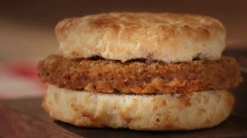 Bojangles Steak Biscuit TV Spot, 'Holidays: You're Not Seeing Double: 2 for $4' - Thumbnail 1