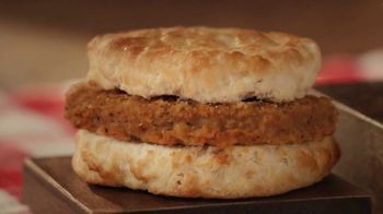 Bojangles Steak Biscuit TV Spot, 'Holidays: You're Not Seeing Double: 2 for $4' - Thumbnail 8