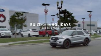 Ford Built for the Holidays Sales Event TV Spot, 'Let's Get To It' [T2] - Thumbnail 3