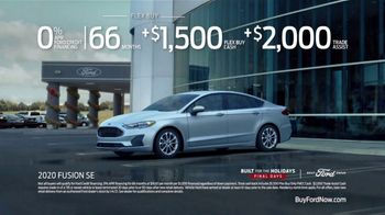 Ford Built for the Holidays Sales Event TV Spot, 'Let's Get To It' [T2] - Thumbnail 9