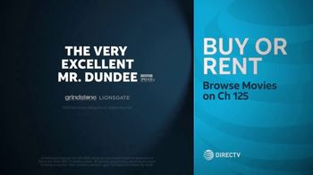 DIRECTV Cinema TV Spot, 'The Very Excellent Mr. Dundee' - Thumbnail 10