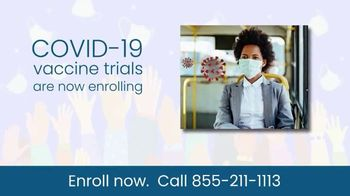 COVID-19 Vaccine Trials TV Spot, 'Enroll Now: Research Study' - Thumbnail 1