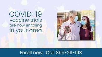 COVID-19 Vaccine Trials TV Spot, 'Enroll Now: Research Study' - Thumbnail 2