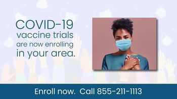 COVID-19 Vaccine Trials TV Spot, 'Enroll Now: Research Study' - Thumbnail 3