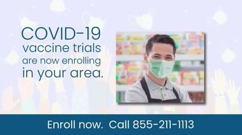 COVID-19 Vaccine Trials TV Spot, 'Enroll Now: Research Study' - Thumbnail 4