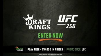 DraftKings Pools TV Spot, 'UFC 256: Tonight's Action' - Thumbnail 4