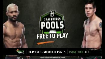 DraftKings Pools TV Spot, 'UFC 256: Tonight's Action' - Thumbnail 5