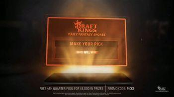 DraftKings Daily Fantasy Sports TV Spot, 'Gridiron Action: Fourth Quarter Pool' - Thumbnail 4