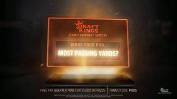 DraftKings Daily Fantasy Sports TV Spot, 'Gridiron Action: Fourth Quarter Pool' - Thumbnail 5