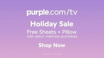 Purple Mattress Holiday Sale TV Spot, 'Try It: Free Sheets and Pillow' - Thumbnail 10