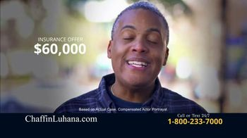 Chaffin Luhana TV Spot, 'Offered $60,000 for Car Accident' - Thumbnail 1