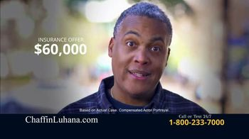 Chaffin Luhana TV Spot, 'Offered $60,000 for Car Accident' - Thumbnail 2
