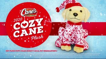 Raising Cane's TV Spot, 'Holidays: 2020 Cozy Cane Plush'