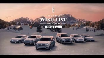 Lincoln Wish List Sales Event TV Spot, 'Art of Flight' [T2] - Thumbnail 9
