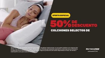 Mattress Firm Venta de Fin de Año TV Spot, 'Ahorra $300 dólares' [Spanish] - Thumbnail 5