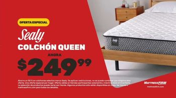 Mattress Firm Venta de Fin de Año TV Spot, 'Ahorra $300 dólares' [Spanish] - Thumbnail 7