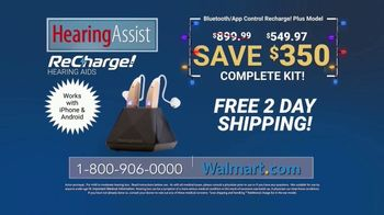 Hearing Assist ReCharge! Plus TV Spot, 'Happy Holidays: Save $350'