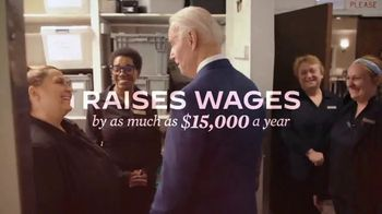 Biden for President TV Spot, 'Working for All Americans' - Thumbnail 6