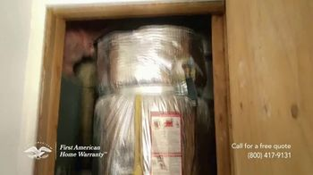 First American Home Warranty TV Spot, 'When Something Goes Wrong' - Thumbnail 2