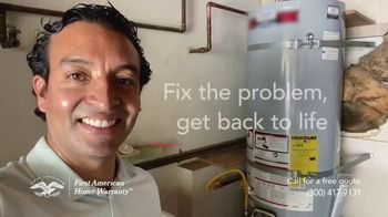 First American Home Warranty TV Spot, 'When Something Goes Wrong' - Thumbnail 8