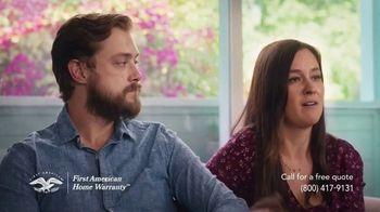 First American Home Warranty TV Spot, 'When Something Goes Wrong' - Thumbnail 9
