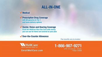 WellCare TV Spot, 'Good News: All-In-One Guide: Add Up to $1,140 to Social Security' - Thumbnail 3