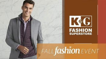 K&G Fall Fashion Event TV Spot, 'BOGO: 30% Off Clearance'