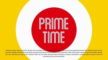 Rent-A-Center TV Spot, 'Prime Time to Save: $5' - Thumbnail 4