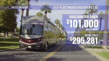 La Mesa RV TV Spot, 'Think: 2021 Fleetwood Discovery LXE'