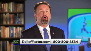 Relief Factor TV Spot, 'David' Featuring Sebastian Gorka - Thumbnail 2
