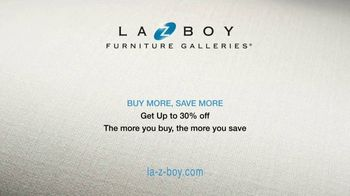 La-Z-Boy Buy More, Save More Event TV Spot, 'Up to 30% Off' - Thumbnail 9