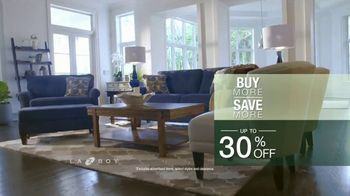 La-Z-Boy Buy More, Save More Event TV Spot, 'Up to 30% Off' - Thumbnail 7