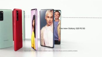 Samsung S20 FE 5G TV Spot, 'For the Fans' Song by BTS - Thumbnail 7