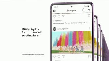 Samsung S20 FE 5G TV Spot, 'For the Fans' Song by BTS - Thumbnail 5