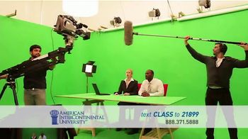 American InterContinental University TV Spot, 'Media Production'