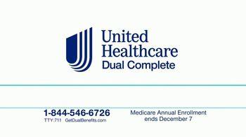 UnitedHealthcare Dual Complete Plan TV Spot, 'Even More Benefits'