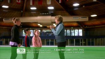 Aetna Allina Medicare Advantage TV Spot, 'Aging Actively: $10 Gift Card' Featuring Dorothy Hamill