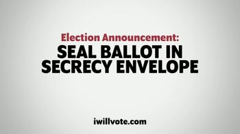 The Democratic National Committee TV Spot, 'Vote Early'