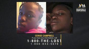 National Center for Missing & Exploited Children TV Spot, 'Cerise Campbell' - Thumbnail 4