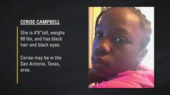 National Center for Missing & Exploited Children TV Spot, 'Cerise Campbell' - Thumbnail 3