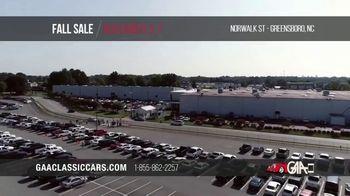 GAA Classic Cars Fall Sale TV Spot, '2020 Greensboro' - Thumbnail 1