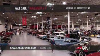 GAA Classic Cars Fall Sale TV Spot, '2020 Greensboro' - Thumbnail 10