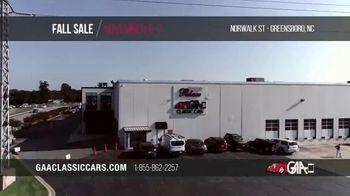 GAA Classic Cars Fall Sale TV Spot, '2020 Greensboro' - Thumbnail 2