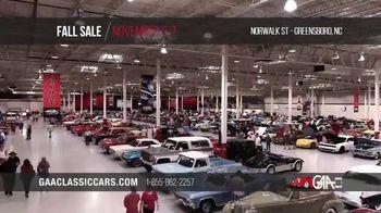 GAA Classic Cars Fall Sale TV Spot, '2020 Greensboro'