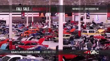 GAA Classic Cars Fall Sale TV Spot, '2020 Greensboro' - Thumbnail 4